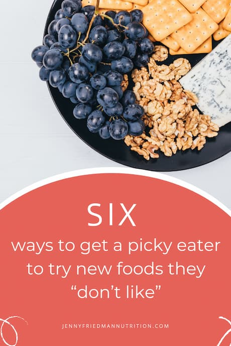 """How to Get A Picky Child to Try New Foods They """"Don't Like"""""""
